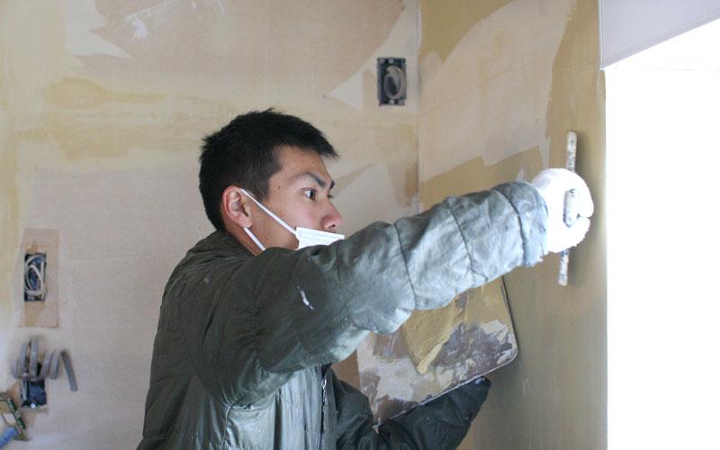 天井・壁面 壁紙・クロス施工